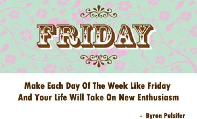 Friday Quotes Bathroom