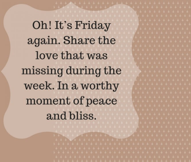 Friday Quotes Blessing