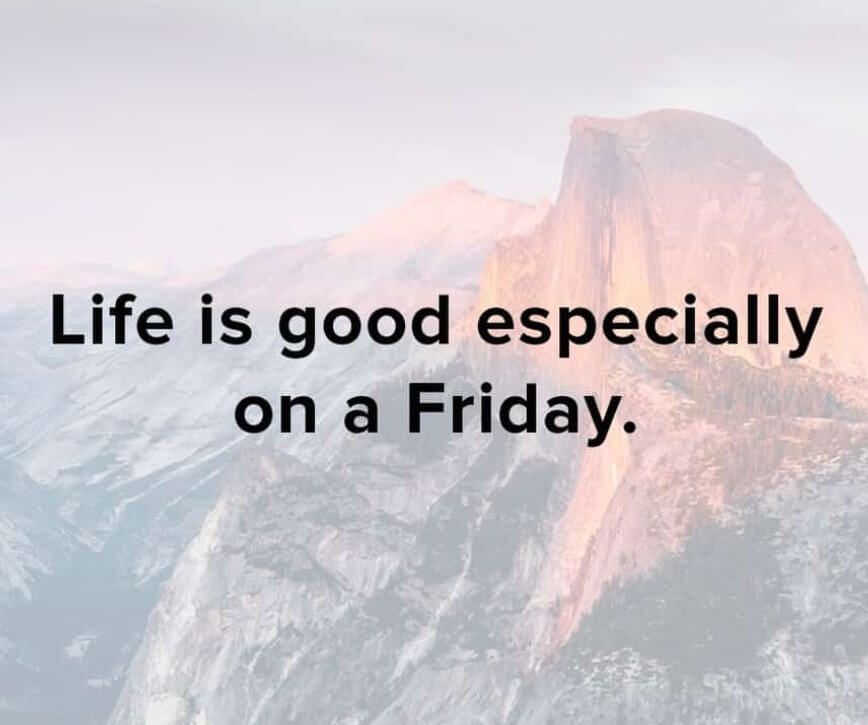 Friday Quotes For Work
