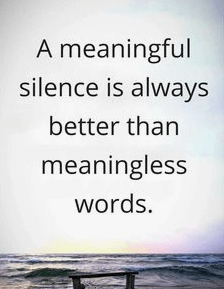 Silence Quotes About Friends