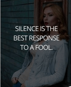 Silence Quotes About Friendship