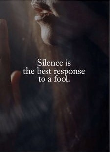 Silence Quotes About Relationships