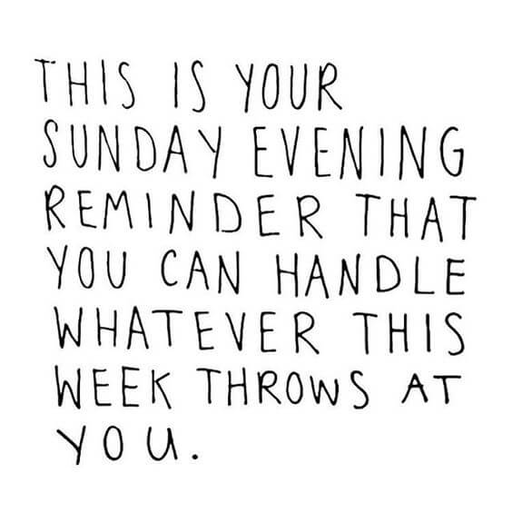 Sunday Date Quote