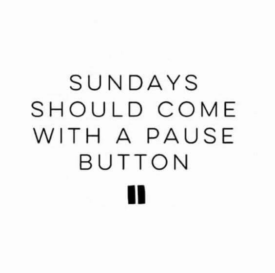 Sunday Quotes And Saying