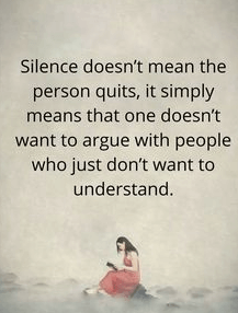 The Silence Quotes