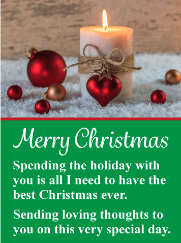 Christmas Quotes And Love