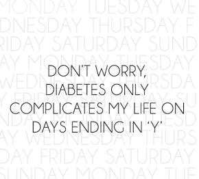 Sad Diabetes Quotes